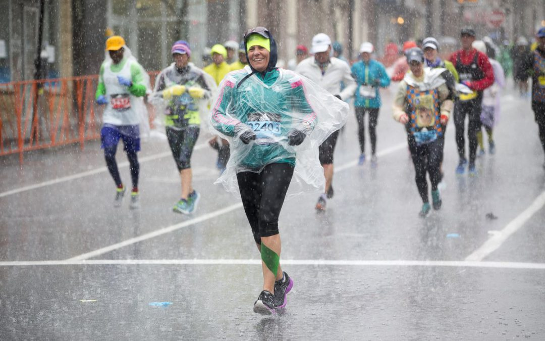 Are you in the middle of a marathon?